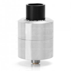 Authentic Digiflavor LYNX RDA Rebuildable Dripping Atomizer - Silver, Stainless Steel, 25mm Diameter