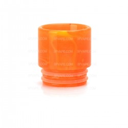 Resin Drip Tip for SMOK TFV12 / TFV8 / TFV8 Big Baby / Wide Bore Goon RDA / Kennedy 24 - Orange, 16mm