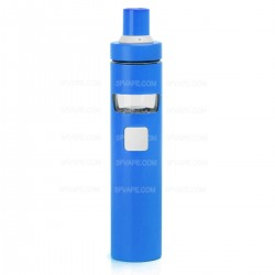 Authentic Joyetech EGo AIO D22 1500mAh Starter Kit - Blue, Stainless Steel, 22mm Diameter