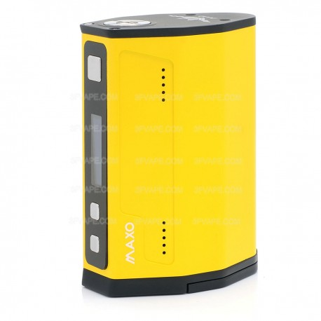 Authentic IJOY MAXO Quad 18650 315W TC VW Variable Wattage Box Mod - Yellow, 5~315W, 2 x 18650 / 4 x 18650