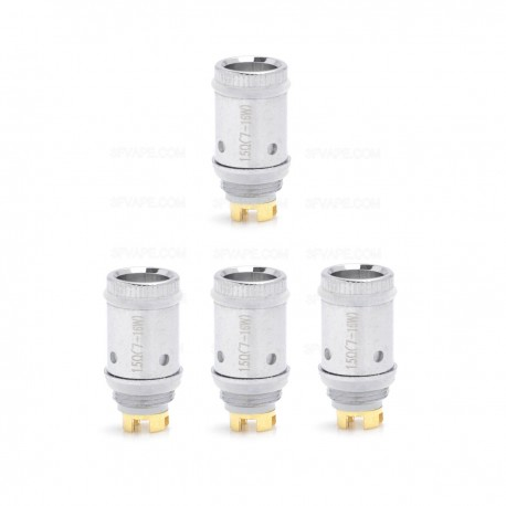 Authentic Sikary Dicey Saint Atomizer Coil Head - Silver, 0.3 ohm (4 PCS)