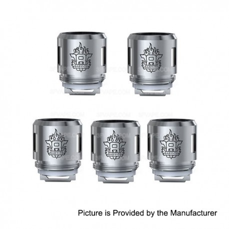 Authentic SMOKTech SMOK TFV8 Baby Tank 5 PCS 0.2 Ohm V8 Baby-T6 Core