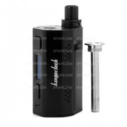 Authentic Kanger CUPTI-2 80W VW Variable Wattage Starter Kit - Black, Zinc Alloy, 5~80W, 2 x 18650