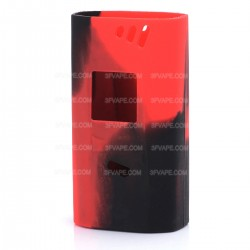 Authentic Vapesoon Protective Silicone Sleeve Case for Smoktech SMOK Alien 220W Mod - Black + Red