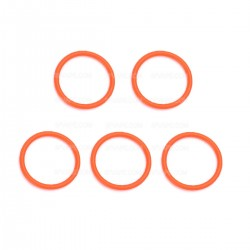 Authentic SMOKTech SMOK TFV8 Baby Top Sealing O-Rings - Orange, Silicone (5 PCS)