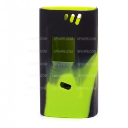 Authentic Vapesoon Protective Silicone Sleeve Case for Smoktech SMOK Alien 220W Mod - Black + Green
