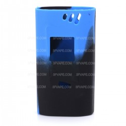 Authentic Vapesoon Protective Silicone Sleeve Case for Smoktech SMOK Alien 220W Mod - Black + Blue