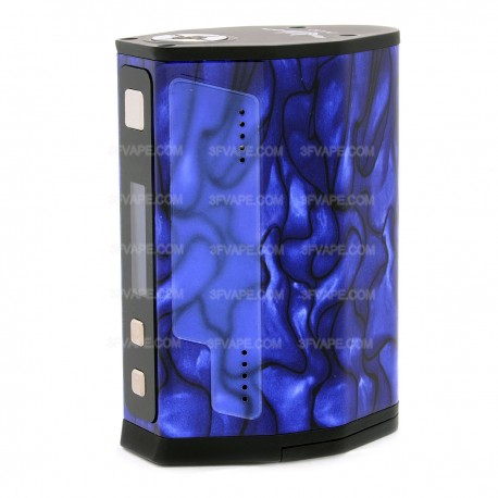 Authentic IJOY MAXO Quad 18650 315W TC VW Variable Wattage Box Mod - Blue, 5~315W, 2 x 18650 / 4 x 18650