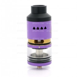 Authentic IJOY Limitless RDTA Rebuildable Dripping Tank Atomizer - Purple, Stainless Steel + Glass 6.9mL, Classic Edition