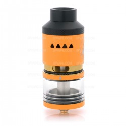 Authentic IJOY Limitless RDTA Rebuildable Dripping Tank Atomizer - Orange, Stainless Steel + Glass 6.9mL, Classic Edition