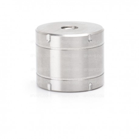Stainless Steel Base Stand for 510 RDA / RTA / Atomizer - Silver, 30mm Diameter