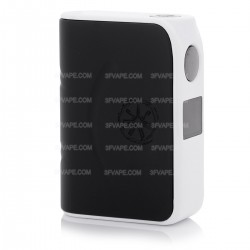 Authentic asMODus Minikin 200W TC VW Variable Wattage Box Mod - Black + White, 10~200W, 2 x 18650