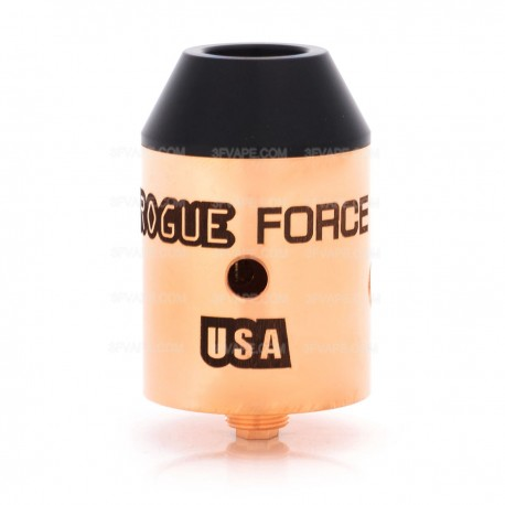 SXK Rogue Force Style RDA Rebuildable Dripping Atomizer - Copper, Copper, 24mm Diameter