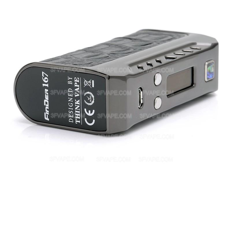 Authentic Thinkvape Finder 167 Evolv Dna 250 Black Tc Vw Mod