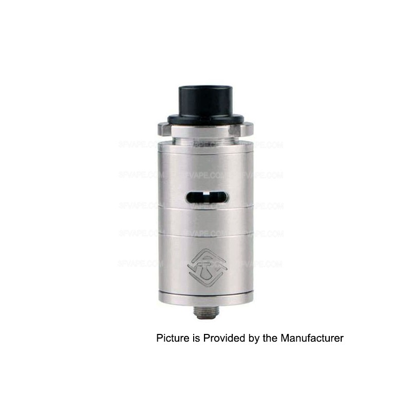 ShenRay Fillian 25mm Style RDA Rebuildable Dripping Atomizer - Silver, Stainless Steel, Diameter