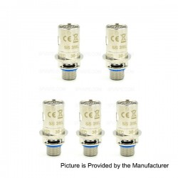 Authentic Innokin iSub SS 316 BVC Coil Head for iSub / iSub S / iSub G / iSub V / iSub Apex Tanks - 0.5 Ohm (30~60W) (5 PCS)