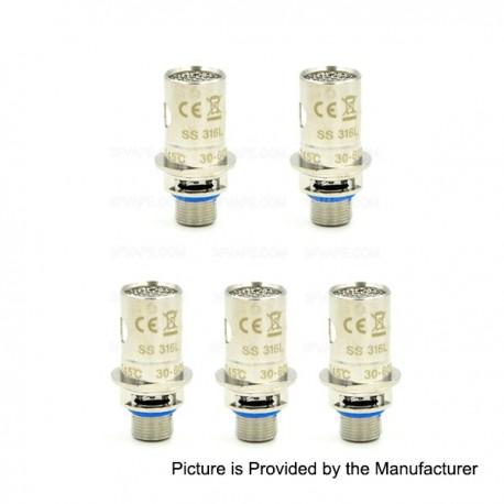 Authentic Innokin iSub SS 316 BVC Coil Head for iSub / iSub S / iSub G / iSub V / iSub Apex Tanks - 0.5 Ohm (30~60W) (5 PCS)