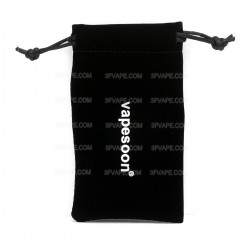 Authentic Vapesoon Velvet Pouch for Mod / Atomizer - Black