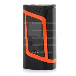 Authentic SMOKTech SMOK Alien 220W TC Temperature Control VW Variable Wattage Box Mod - Black + Orange, 6~220W, 2 x 18650