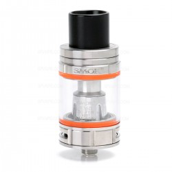 Authentic SMOKTech SMOK TFV8 Big Baby Sub Ohm Tank Clearomizer - Silver, 5mL, 0.15 Ohm, 24.5mm Diameter