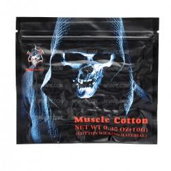 Authentic Demon Killer Muscle Cotton Organic Cotton Fiber - White, 10g (0.35oz)