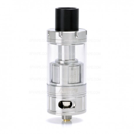 Authentic Horizon Arctic V12 Sub Ohm Tank Clearomizer - Silver, Stainless Steel + Glass, 5mL, 0.1 / 0.3 Ohm, 25.5mm Diameter
