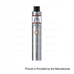 Authentic SMOKTech SMOK Stick V8 3000mAh Battery + TFV8 Baby Tank Starter Kit - Silver, 5ml, 0.3 Ohm, 24.5