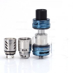 Authentic SMOKTech SMOK TFV8 CLOUD BEAST Sub Ohm Tank Atomizer - Blue, Stainless Steel, 6ml, 24.5mm Diameter