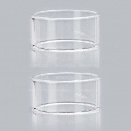 Replacement Glass Tank for 24mm Goon Style RDTA Atomizer - Transparent (2 PCS))