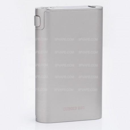 "Authentic Joyetech Cuboid 200 200W 0.96"" OLED TC VW Variable Wattage Box Mod - Silver, 1~200W, 3 x 18650"