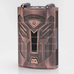 Authentic Unicorn TF200 200W TC VW Variable Wattage Box Mod - Bronze, Zinc Alloy, 6~200W, 150~315'C / 300~600'F, 2 x 18650