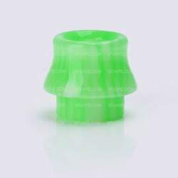 Replacement Drip Tip for Kennedy / Goon / Goon LP / Battle / Reload / Unholy RDA - Light Green, Epoxy Resin, 15.1mm