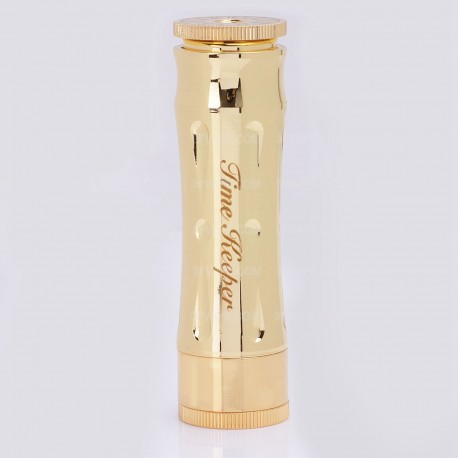 Timekeeper Time Keeper V2 Style Mechanical Mod - Golden, Brass, 1 x 18650