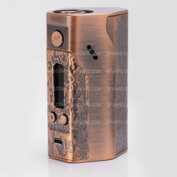Wismec Reuleaux DNA200 TC VW Variable Wattage Box Mod - Bronze, 1~200W, 100~300'C / 200~600'F, 3 x 18650, Evolve DNA 200 Chip
