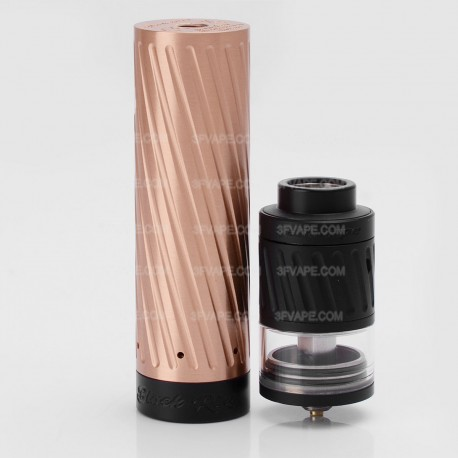 Authentic GeekVape Karma Kit Mechanical Mod + 2-in-1 RDTA / RDA Atomizer - Copper, Copper + Stainless Steel, 1 x 18650, 25mm
