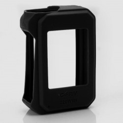 Authentic Vapesoon Protective Silicone Sleeve Case for SMOKTech SMOK G-Priv 220W Mod - Black