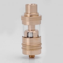 Authentic Uwell Crown Mini Sub Ohm Tank Subtank Clearomizer - Rose Gold, Stainless Steel + Glass, 2.0ml, 0.25 ohm, 22mm Diameter