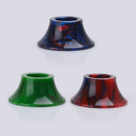 Replacement Drip Tip for CoilArt MAGE RTA / GTA Atomizer - Random Color, Resin, 10.5mm