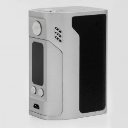 Authentic Wismec Reuleaux RX300 300W TC VW Variable Wattage Box Mod - Silver, 1~300W, 100~315'C / 200~600'F, 4 x 18650