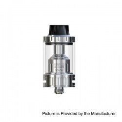 Authentic IJOY EXO S Sub-ohm Tank Clearomizer - Silver, Stainless Steel + Glass, 3.2ml, 22mm Diameter