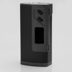 "Authentic Sigelei Fuchai Plus 213W 0.96"" TC VW Variable Wattage Box Mod - Black, 10~213W, 100~300C / 200~570'F"