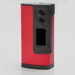 "Authentic Sigelei Fuchai Plus 213W 0.96"" TC VW Variable Wattage Box Mod - Red, 10~213W, 100~300C / 200~570'F"