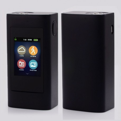 "Authentic Joyetech Ocular 1.68"" Touch Screen 80W 5000mAh 2GB TC VW Box Mod - Black, Zinc Alloy, 1~80W, 100~315'C / 200~600'F"