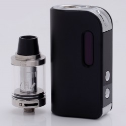 Authentic SMOKJOY Air 50S 50W 1400mAh TC VW Variable Wattage Mod + Air Tank Starter Kit - Black, 7~50W, 2.0ml, 0.6 ohm