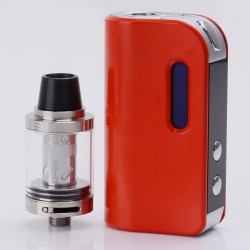 Authentic SMOKJOY Air 50S 50W 1400mAh TC VW Variable Wattage Mod + Air Tank Starter Kit - Red, 7~50W, 2.0ml, 0.6 ohm
