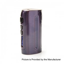 Authentic Pioneer4you IPV D4 TC VW Variable Wattage Box Mod - Bronze Purple, 7~80W, 10J~80J, 1 x 18650
