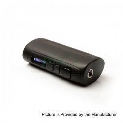 Authentic Pioneer4you IPV D4 TC VW Variable Wattage Box Mod - Black, 7~80W, 10J~80J, 1 x 18650