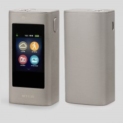 "Authentic Joyetech Ocular 1.68"" Touch Screen 80W 5000mAh 2GB TC VW Box Mod - Silver, Zinc Alloy, 1~80W, 100~315'C / 200~600'F"