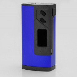 "Authentic Sigelei Fuchai Plus 213W 0.96"" TC VW Variable Wattage Box Mod - Blue, 10~213W, 100~300C / 200~570'F"