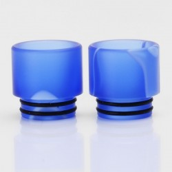 Replacement Drip Tip for SMOK TFV8 / TFV8 Big Baby Tank - Blue, Acrylic, 16.1mm
